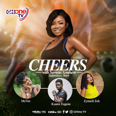 """Serwaa Amihere Is The New Host Of Weekend Sports Show """"CHEERS"""" On GHOne TV"""