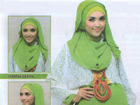 Inspirasi Hijab : Fresh Green Look