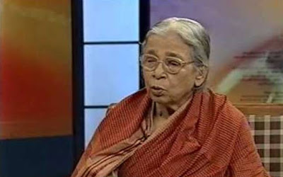 Mahasweta Devi continues to be critical