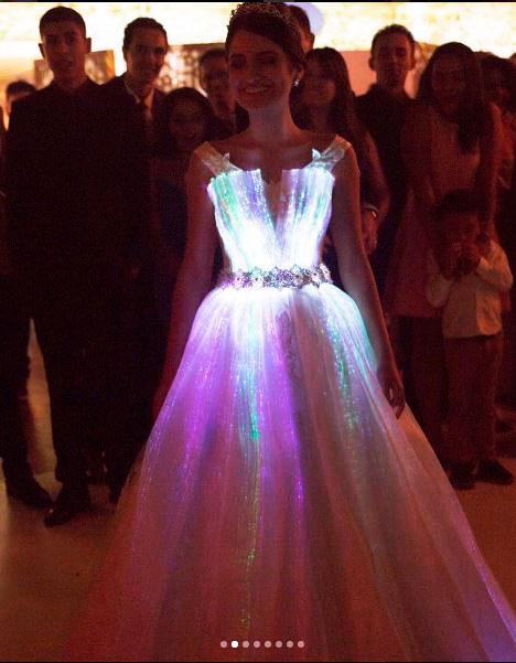 Vestido de noiva de Lucas Anderi