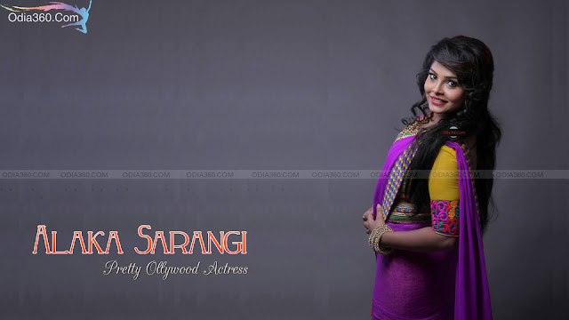 Alaka Sarangi Pretty Odia Actress HD Wallpaper Download