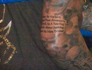 Tattoo Information Point: Tattoo of Randy Orton - The WWE ...