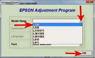 EPSON L120 RESETTER Free direct download