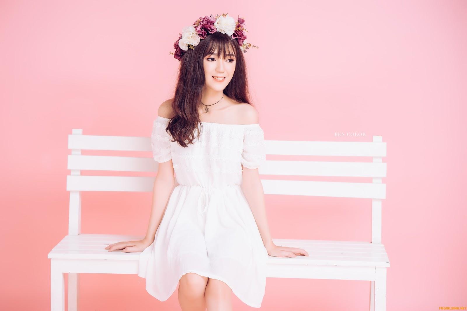 [4K] Bộ ảnh tổng hợp girl xinh duyên dáng đáng yêu @BaoBua: Profile Mix