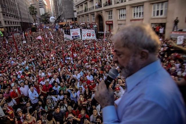 Brasil | Lula lança pré-candidatura este domingo em todo o Brasil