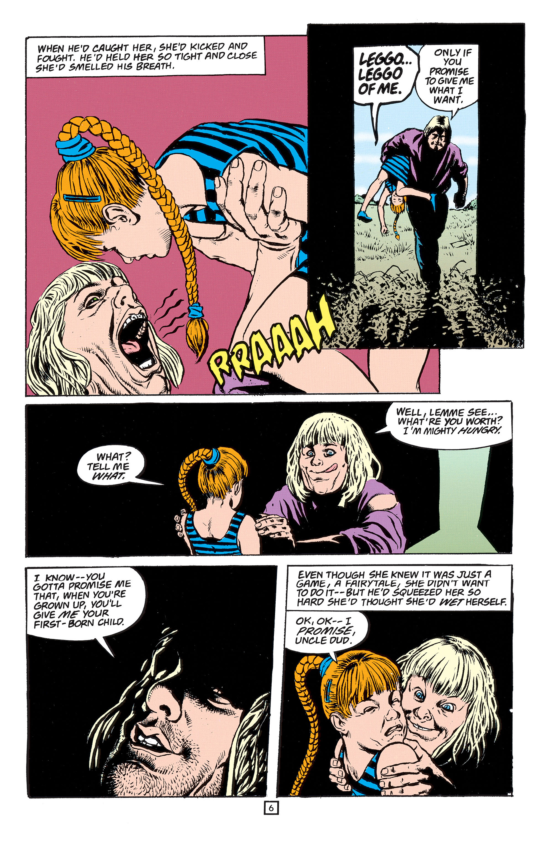 Read online Animal Man (1988) comic -  Issue #55 - 7