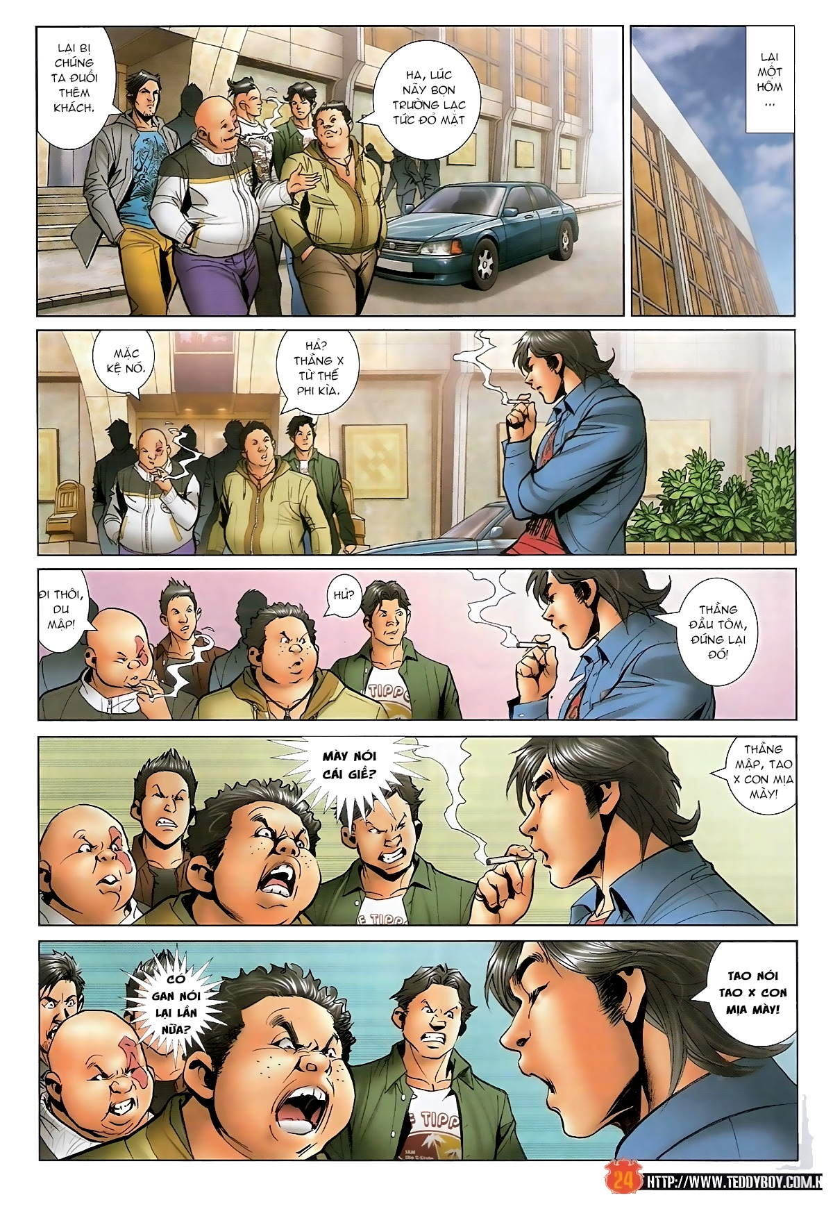 Người Trong Giang Hồ - Chapter 1566: Bốc shit - Pic 23