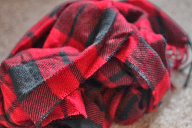 Primark-Haul-tartan-scarf