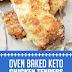 Oven Baked Keto Chicken Tenders #keto #chickentenders