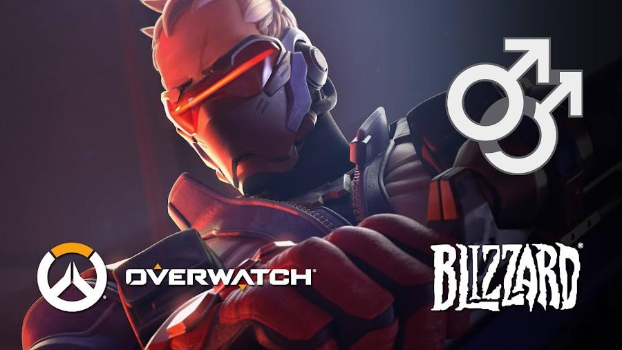 overwatch soldier 76 gay bisexual blizzard lgbtq