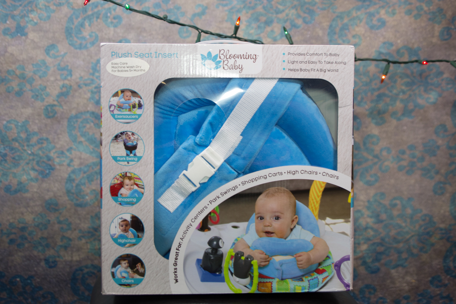 At the Fence: 2017 Holiday Gift Guide : Blooming Baby Seat Insert