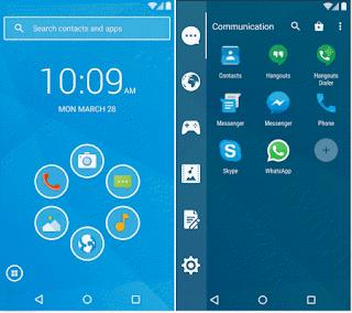 Aplikasi tema android keren Smart launcher 3