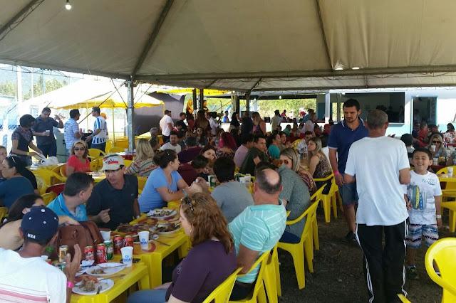 3ª Costelada do Grêmio Cachoeira foi um sucesso