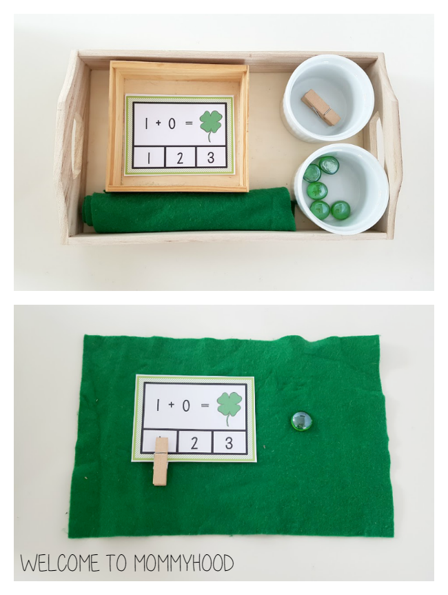 St Patricks Day addition cards by Welcome to Mommyhood #stpatricksday, #earlylearning #kidsactivities