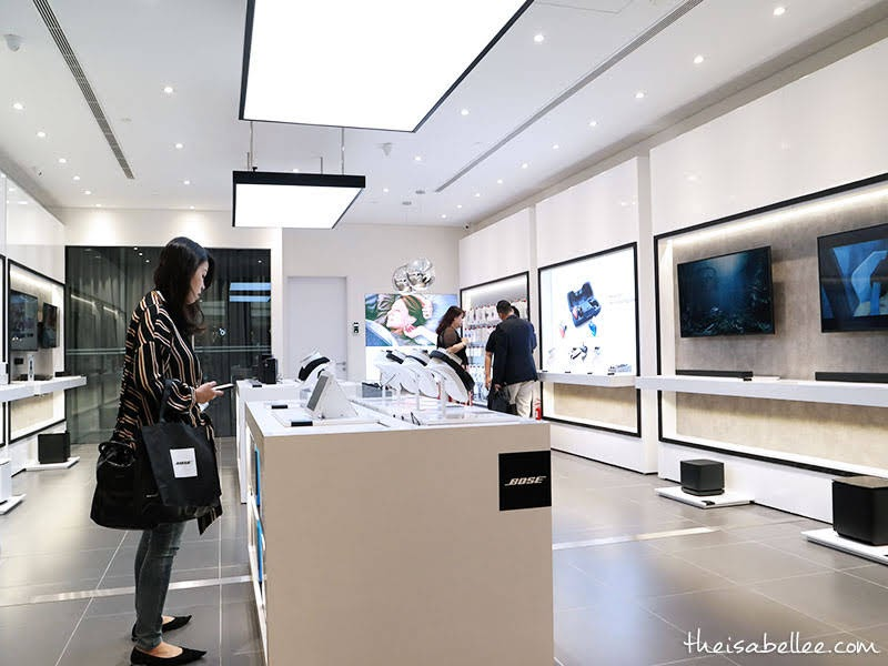 Interior of Bose Single Branded Store @ 1 Utama