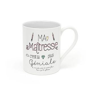 maitresse geniale super mug cadeau maitre maitresse atsem idee originale café