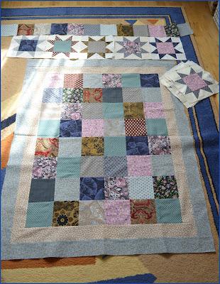 квилт пэчворк одеяло