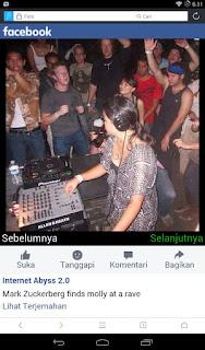 Photo Jokowi dengan Mark Zuckerberg Sedang Dugem