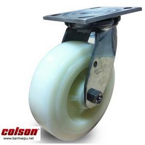 Bánh xe inox 304 vật liệu bánh xe đẩy Nylon | 4-4409-824