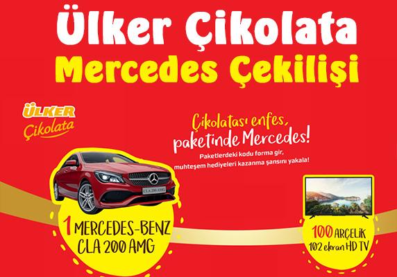 Ülker Çikolata Mercedes çekilişi, ülker çekiliş, Ülker Mercedes çekilişi, Ülker çekilişine katıl, güncel çekilişler