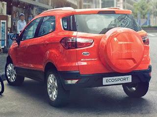Tampak Belakang Ford Ecosport