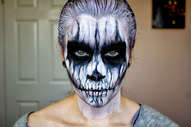 halloween make up, halloween makeup, halloween makeup ideas, makeup halloween, horror make up, halloween face paint, how to do halloween makeup