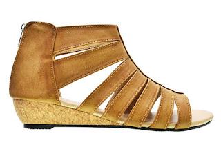 Sandal flip flops cerelia sellina krem sandal wanita