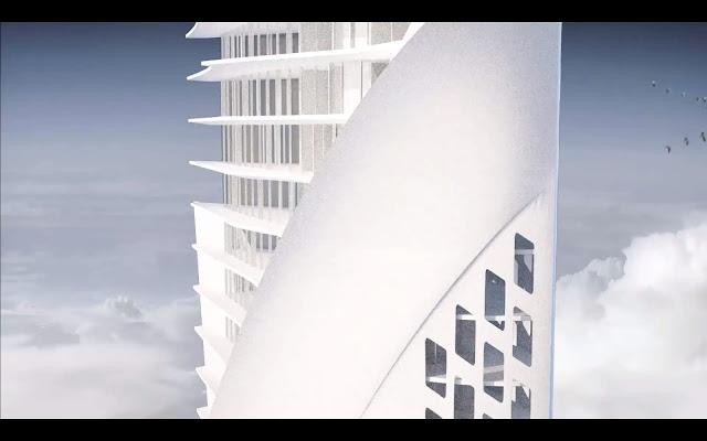 高さ32,000m??宇宙から吊るされる高層ビルが計画されている?【ar】