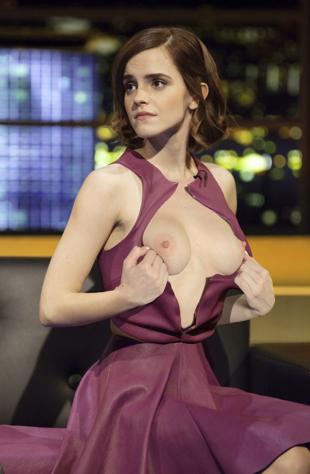 Emma Watson Nude In Tv Show Showing Her Boobs  Pussy Fake -5995