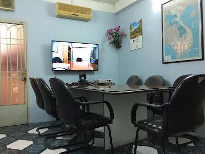 Lắp đặt thiết bị hội nghị truyền hình tại công ty Việt Siêu