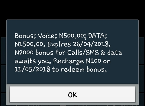 How To get Free Airtime and Data bonus valid for a month on MTN