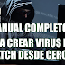 Manual completo para crear virus en batch paso a paso (PDF) (MEGA-MEDIAFIRE)