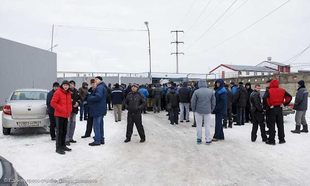 На «Загорском бройлере» бастовало порядка 400 человек.