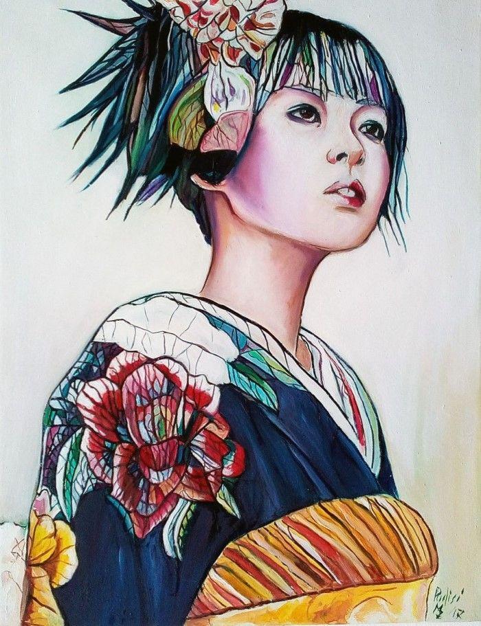 На тему японской культуры. Maurizio Puglisi