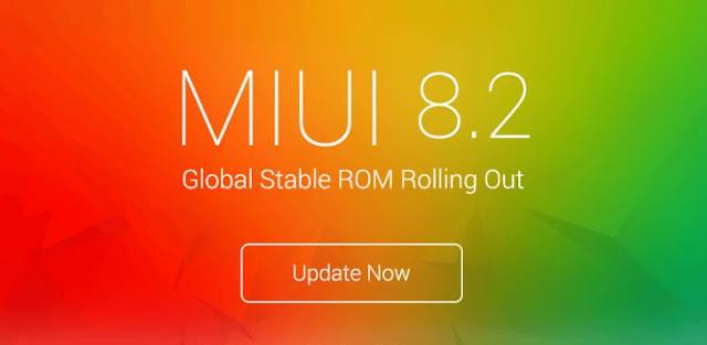 Daftar Smartphone Xiaomi yang mendapat Update MIUI 8.2 Global Stabil