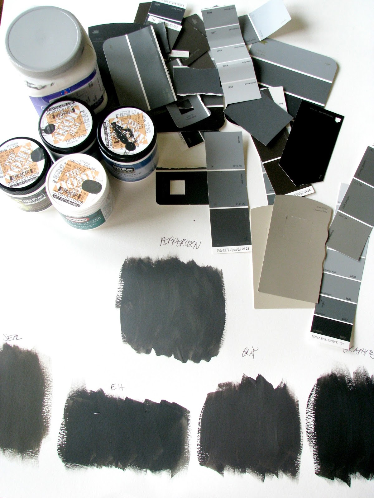 Green Gray Paint Colors Life Love Larson Dark Charcoal Paint Decision
