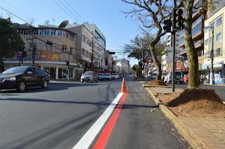 Prefeitura de Teresópolis incentiva o uso de bicicleta e implanta ciclofaixa nas avenidas Lúcio Meira e Feliciano Sodré