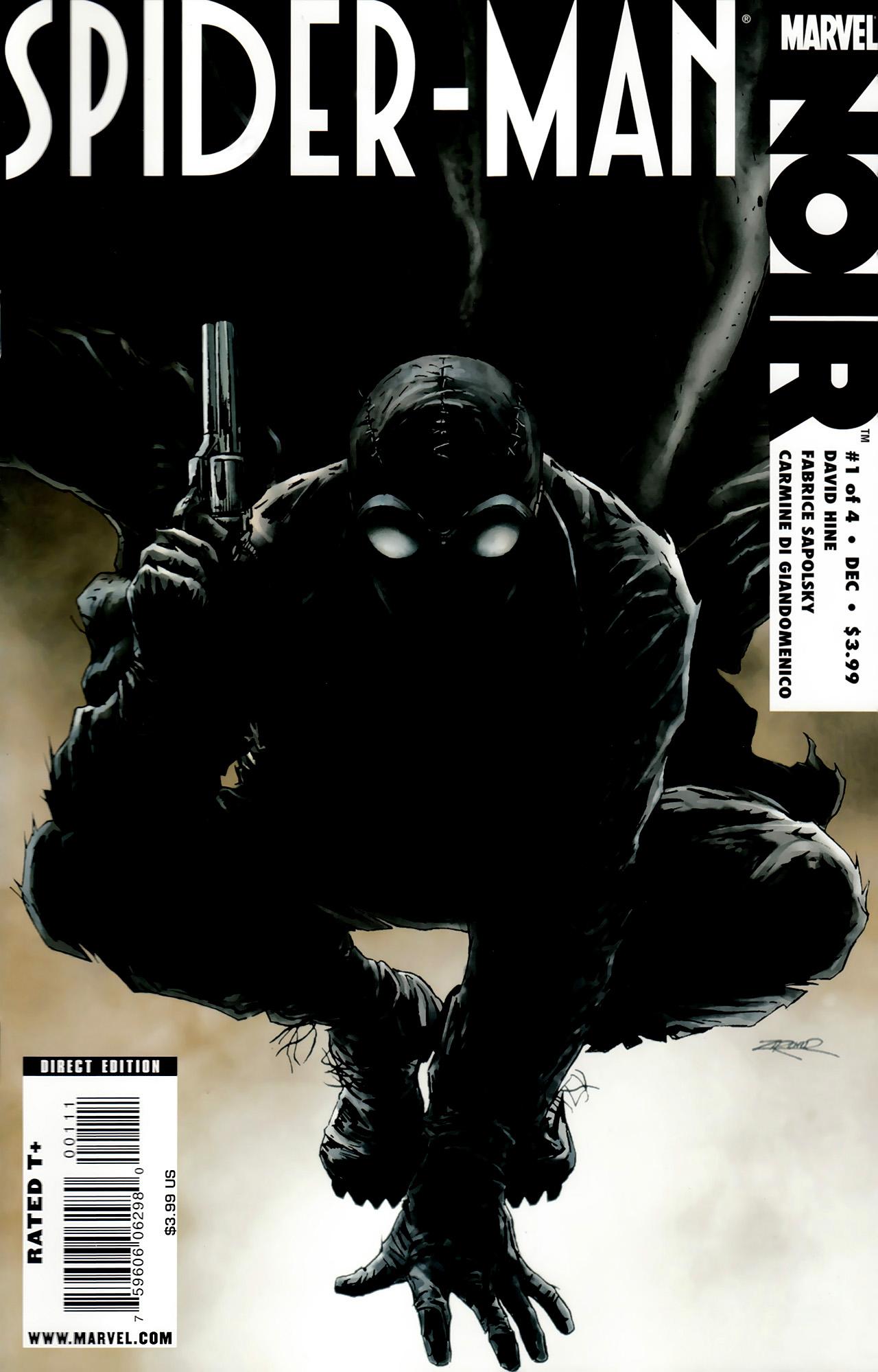 Spider-Man Noir (2009) issue 1 - Page 1