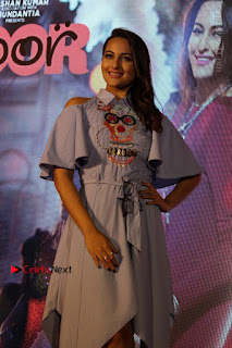 Actress Sonakshi Sinha at the Song Launch of Film Noor  0028.JPG