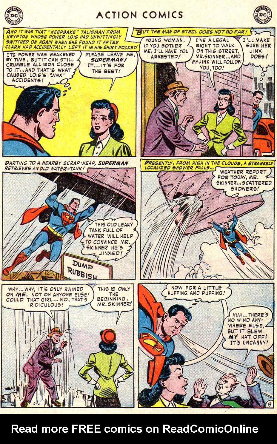 Read online Action Comics (1938) comic -  Issue #172 - 11