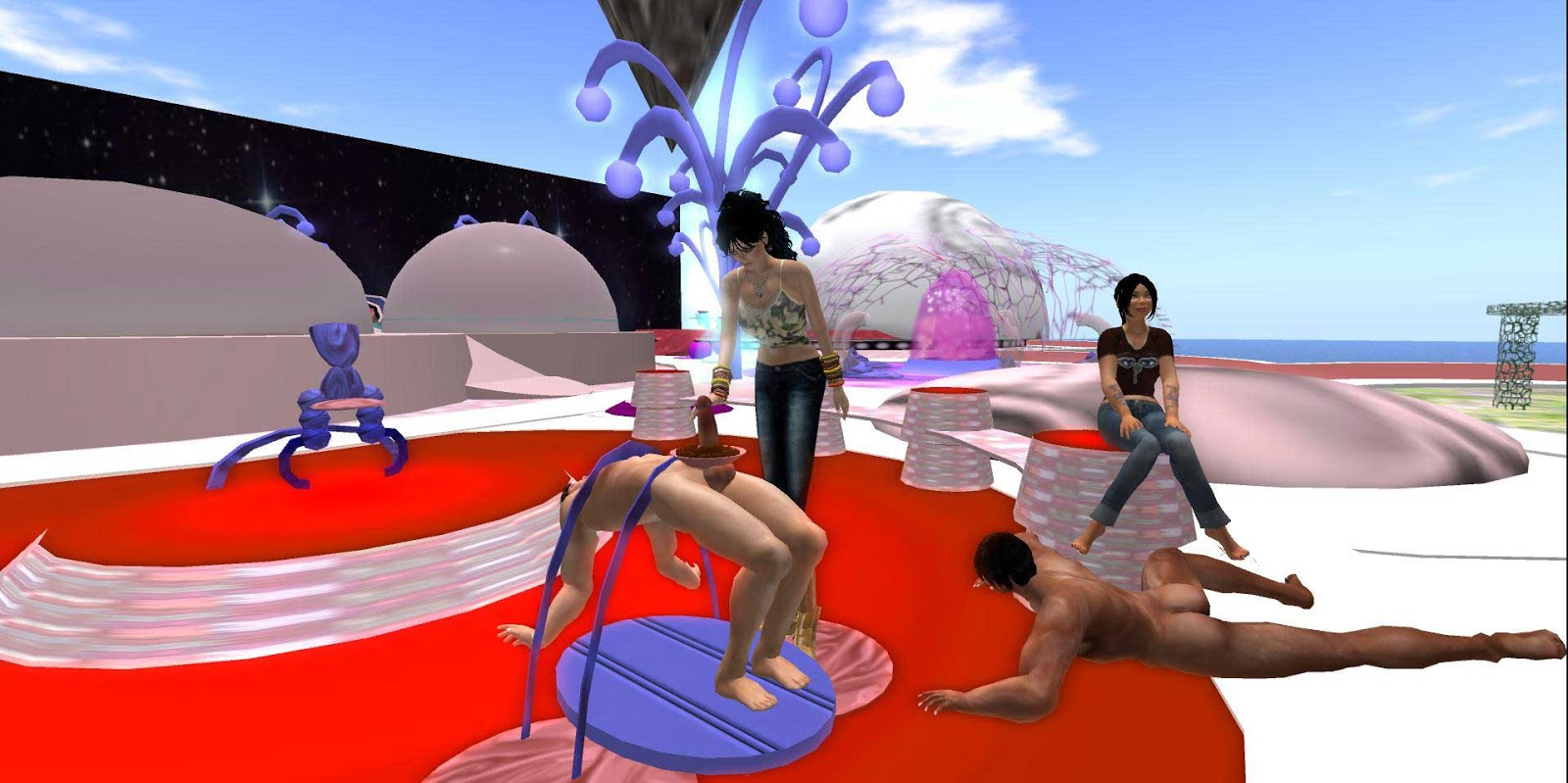 Femdom In Second Life It Still Exists Ginette Pinazzo Talks Matriarchy In The Virtual World Female Led Society