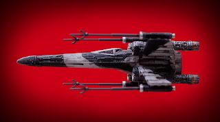 Bandai Starwars Rogue One Partisan X-wing 4