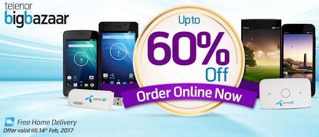 Telenor Big Bazaar brings mega discounts on devices