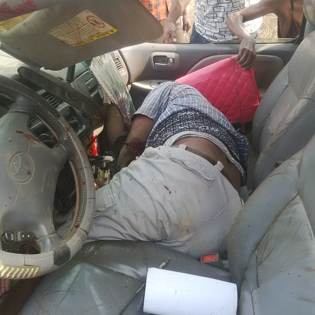 PHOTOS: Ghastly Accident Along Aba Road,abia Today
