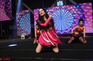 Sunny Leone Dancing on stage At Rogue Movie Audio Music Launch ~  217.JPG