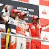 Há dez anos, Brasil tinha dois pilotos no pódio pela última vez na Fórmula 1
