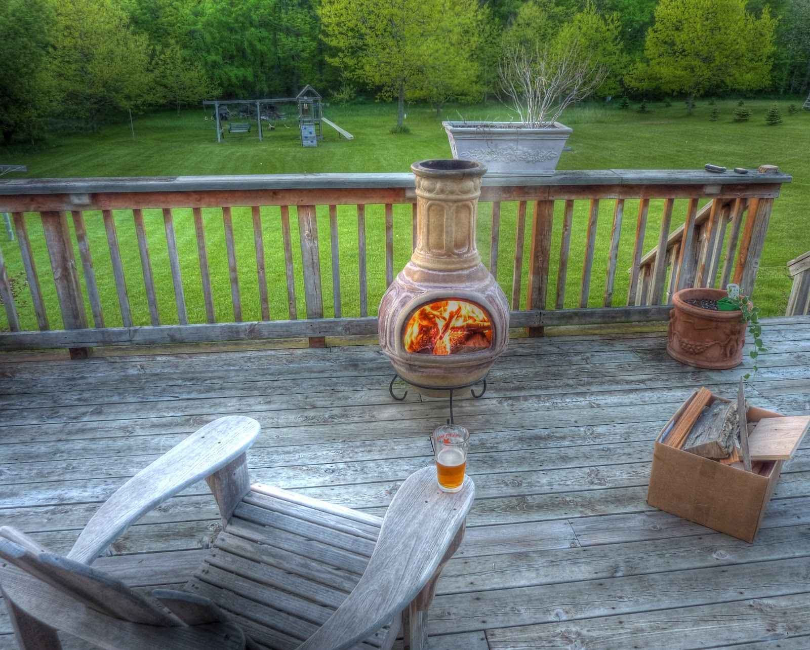 Fire Clay At Home : Jeff and the turks chiminea hunt