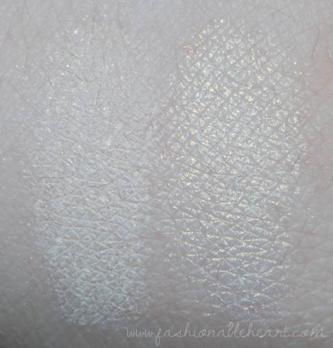 bbloggers, bbloggersca, hard candy, moon glow, luminizing, nars, albatross, highlighters, dupe, swatch, comparison, gold, luminizer, highlighter