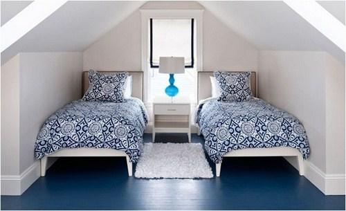 Chọn màu sàn nhà tối để tăng chiều cao cho phòng