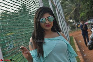 Madhulagna Das looks super cute in White Shorts and Transparent Top 15.JPG